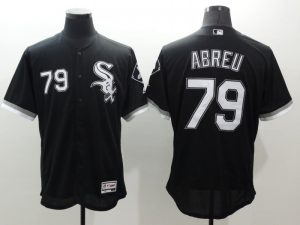 2016 MLB FLEXBASE Chicago White Sox 79 Abreu black jerseys