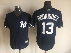 2016 MLB FLEXBASE New York Yankees 13 Rodriguez white jerseys