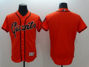 2016 MLB FLEXBASE San Francisco Giants Blank Orange Jersey