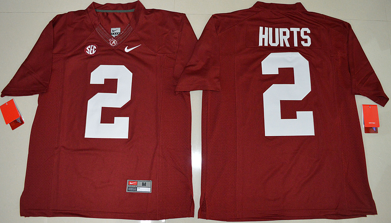 2016-ncaa-alabama-crimson-tide-2-jalen-hurts-crimson-college-football-limited-jerseys