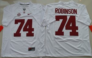 2016-ncaa-alabama-crimson-tide-74-cam-robinson-white-college-football-limited-jersey