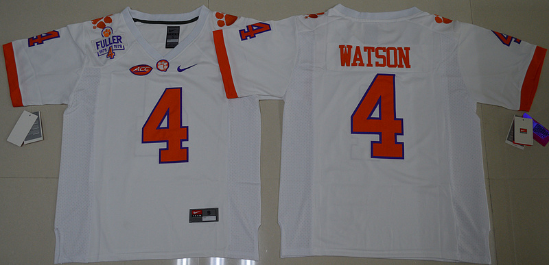 2016-ncaa-clemson-tigers-4-deshaun-watson-white-college-football-limited-jersey