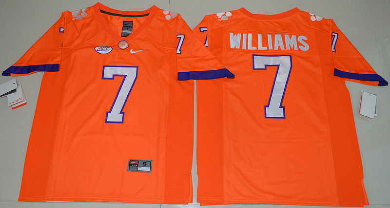 2016-ncaa-clemson-tigers-7-mike-williams-orange-college-football-limited-jersey