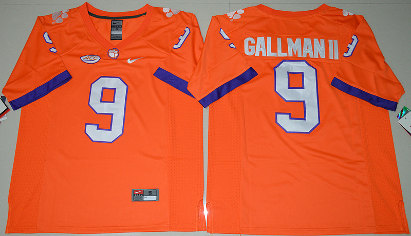 2016-ncaa-clemson-tigers-9-wayne-gallman-ii-orange-college-football-limited-jersey