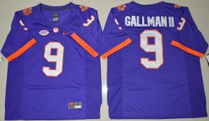 2016-ncaa-clemson-tigers-9-wayne-gallman-ii-purple-college-football-limited-jersey