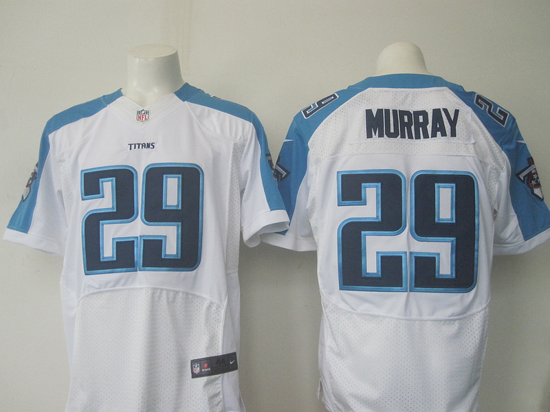 2016 Nike NFL Tennessee Titans 29 Murray white Elite jerseys