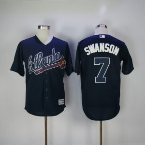 2017-mlb-atlanta-braves-7-swanson-blue-game-jerseys
