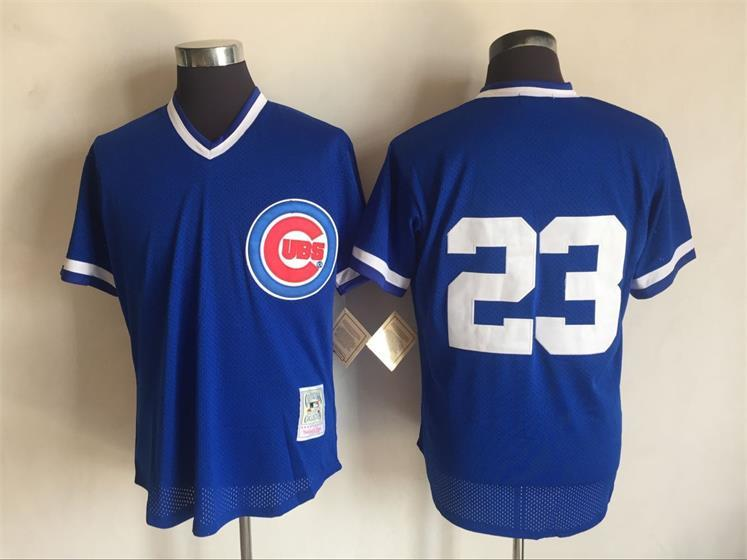 2017-mlb-chicago-cubs-23-ryne-sandberg-blue-throwback-jerseys