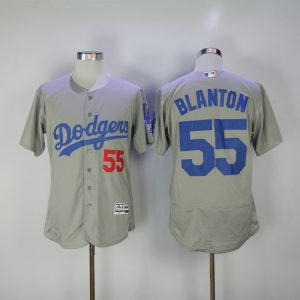 2017-mlb-los-angeles-dodgers-55-blanton-grey-elite-jerseys