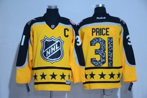 2017-nhl-montreal-canadiens-31-price-yellow-all-star-jerseys