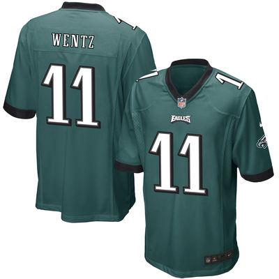 men-philadelphia-eagles-11-carson-wentz-nike-green-2016-draft-pick-elite-jersey
