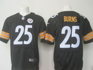 men-pittsburgh-steelers-25-burns-nike-black-2016-draft-pick-elite-jersey