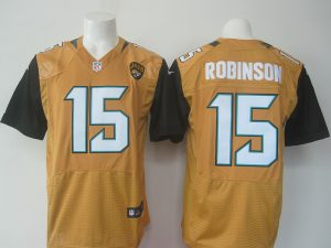 NFL Jacksonville Jaguars 15 Robinson Yellow Nike elite 2016 jerseys