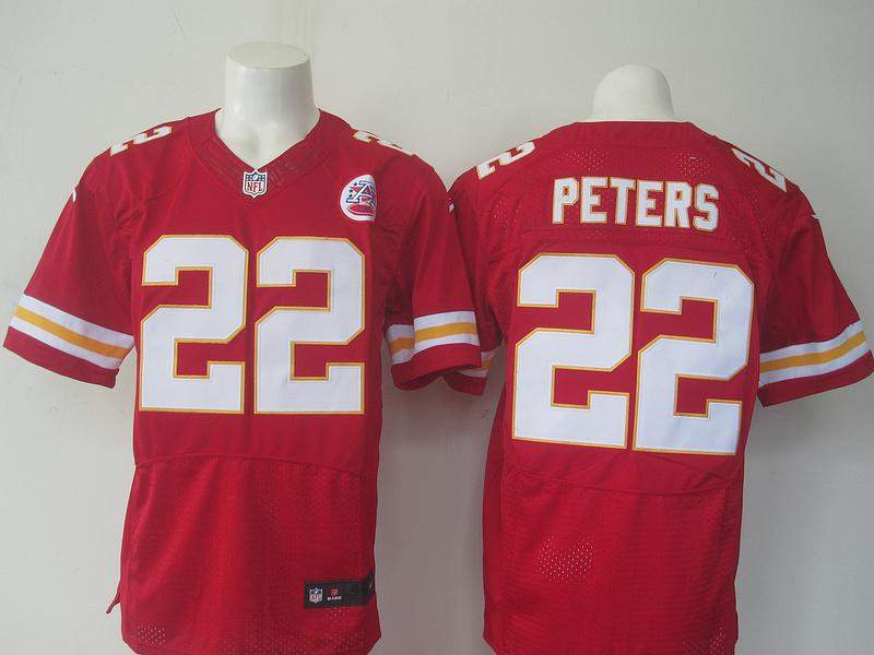 NFL Kansas City Chiefs 22 Peters red Nike elite 2016 jerseys
