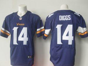 NFL Minnesota Vikings 14 Diggs Purple Elite 2016 Nike jerseys