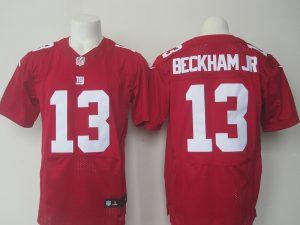 NFL New York Giants 13 Beckham Jr red Nike elite 2016 jerseys