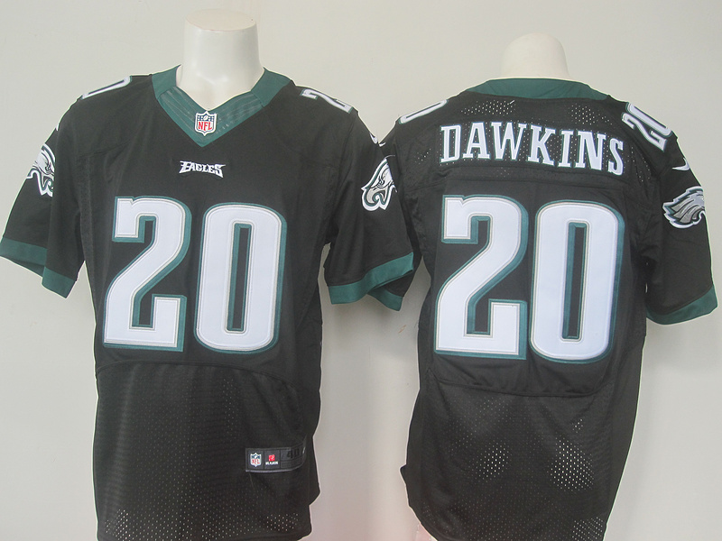 NFL Philadelphia Eagles 20 Dawkins Black elite Nike 2016 jerseys
