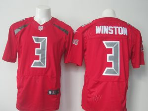 NFL Tampa Bay Buccaneers 3 Winston red 2016 Nike Elite Jerseys