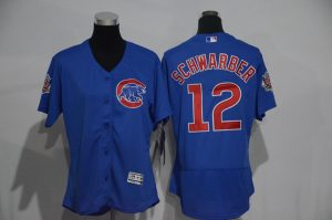 womens-2017-mlb-chicago-cubs-12-schwarber-blue-elite-jerseys