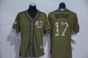 womens-2017-mlb-chicago-cubs-17-bryant-green-salute-to-service-stitched-baseball-jersey