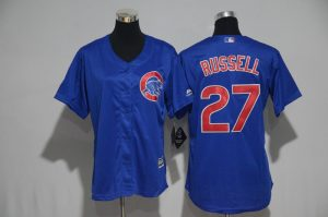 womens-2017-mlb-chicago-cubs-27-russell-blue-jerseys