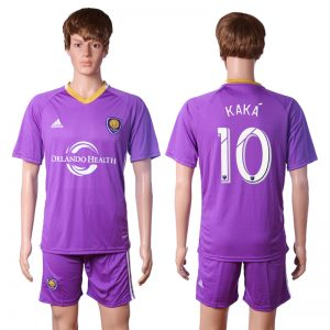 2016-2017 club Orlando city training suit 10 KAKA Purple Soccer Jersey