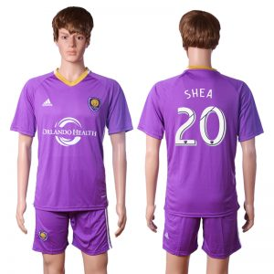 2016-2017 club Orlando city training suit 20 SHES Purple Soccer Jersey