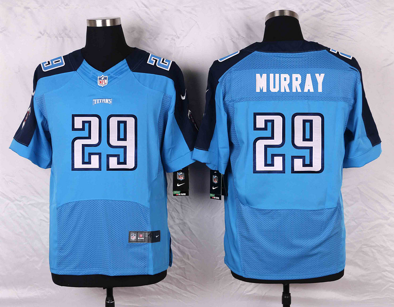 2016 Men's Nike Tennessee Titans 29 DeMarco Murray Elite Light Blue Team Color NFL Jersey