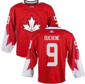 Mens Team Canada 9 Matt Duchene 2016 World Cup of Hockey Olympics Game Red Jerseys